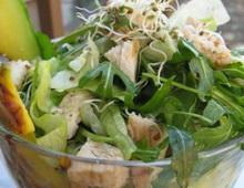 pirincana avokado salata