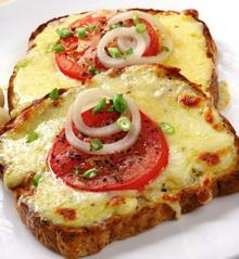 zapeceni sendvici s paradajzom