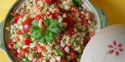 Couscous salata sa povrcem