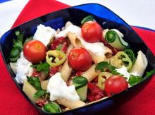 Salata s ribom