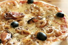 pizz s plodovima mora